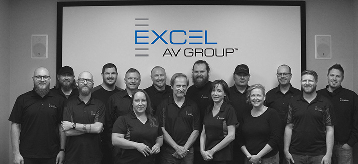 Excel AV Group Team Photo