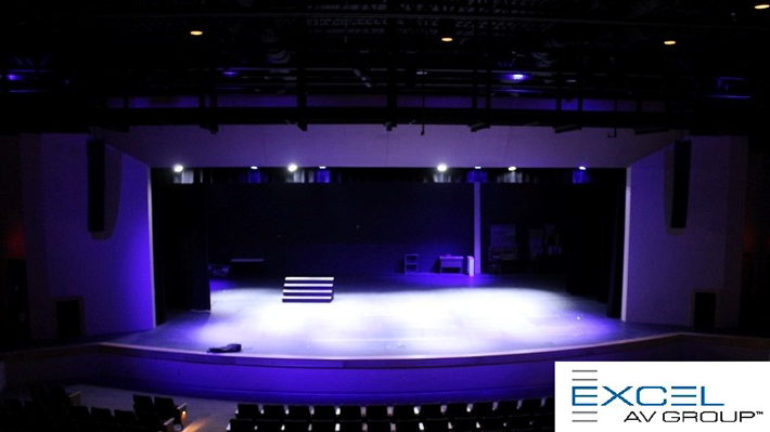 Stage Lighting For Auditoriums Churches And Larger Es